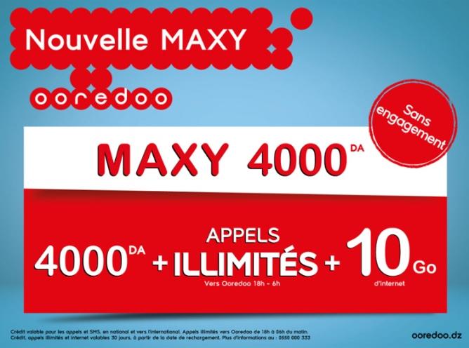 ooredoo maxy 4000