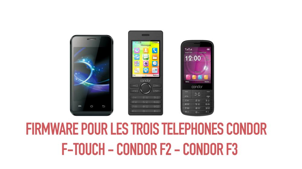 Condor f-touch f2 f3