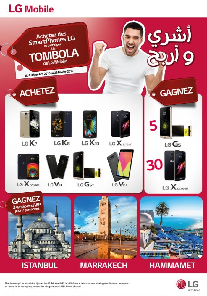 LG Algerie Tombola