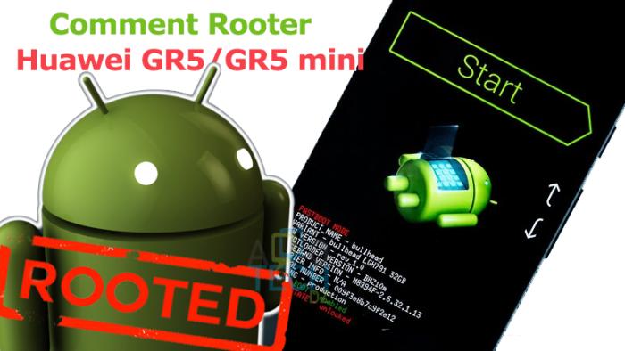 huawei Gr5 et mini root
