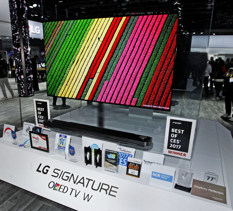 LG Best of CES 2017 tv