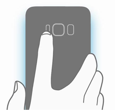 Galaxy S8 Schema Capteur Empreinte