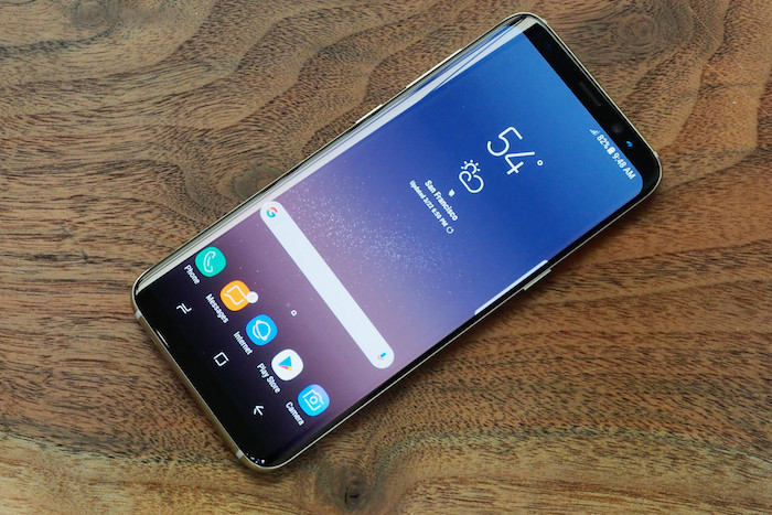 Galaxy S8 Avant Officiel