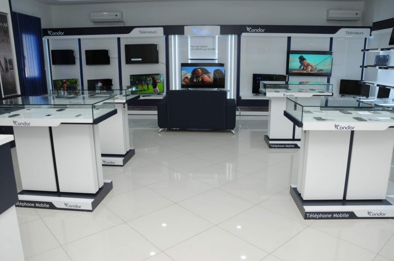 condor tunisie showroom