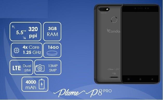 condor plume p8 pro