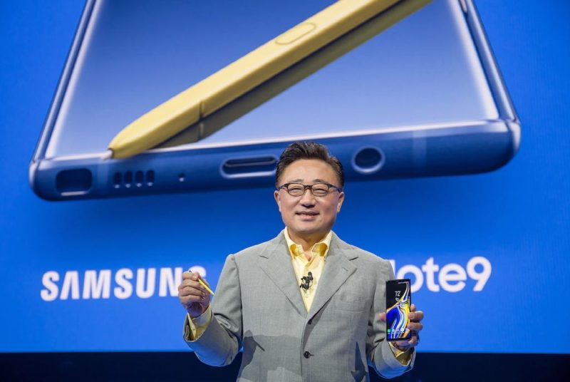 samsung galaxy note 9 unpacked