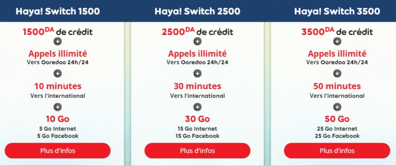 Haya switch