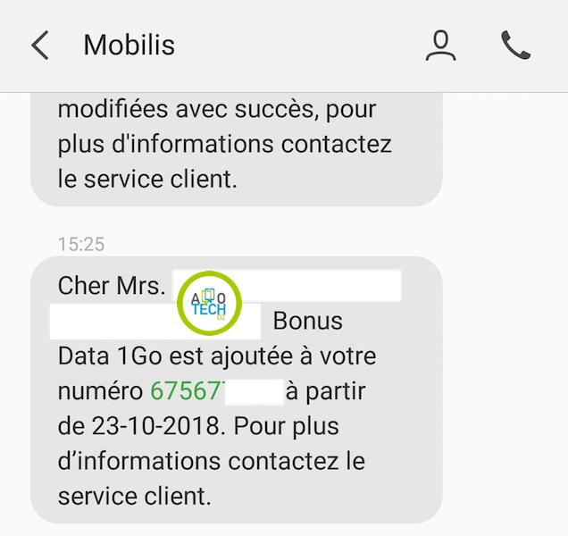 mobilis 1go gratuit mobispace