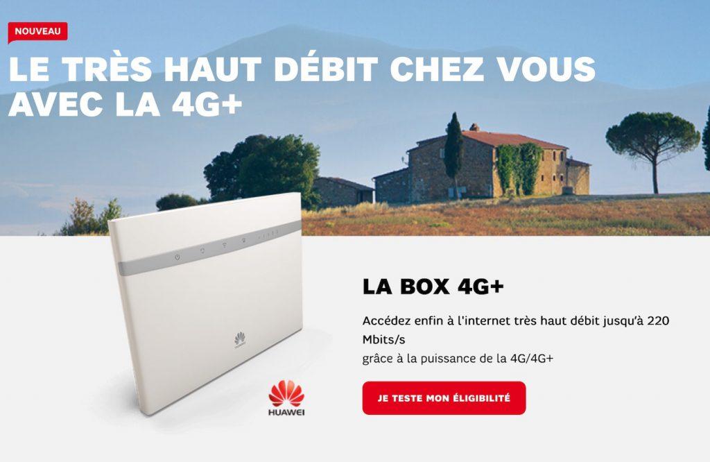 SFR Box 4G+