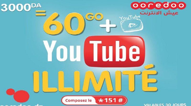 ooredoo ilimitee youtube