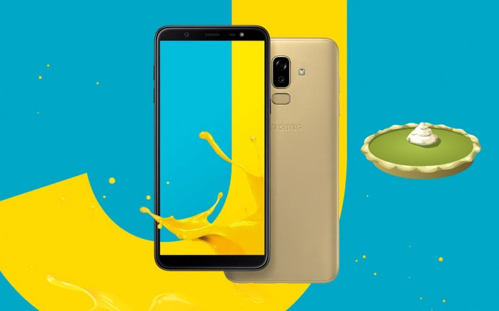 galaxy j8 android pie