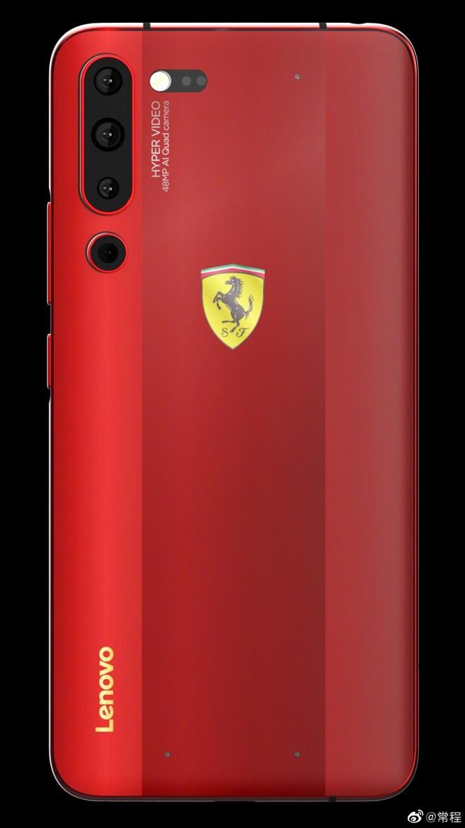 Lenovo Z6 Pro Ferrari Edition Pro Ferrari