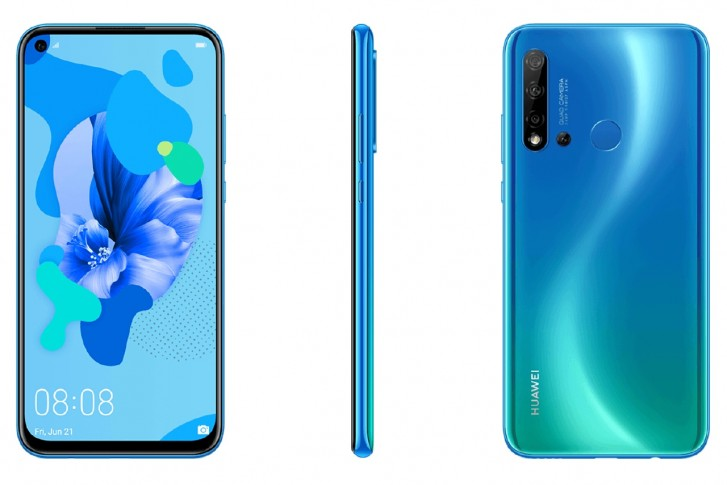 huawei nova 5i bleu