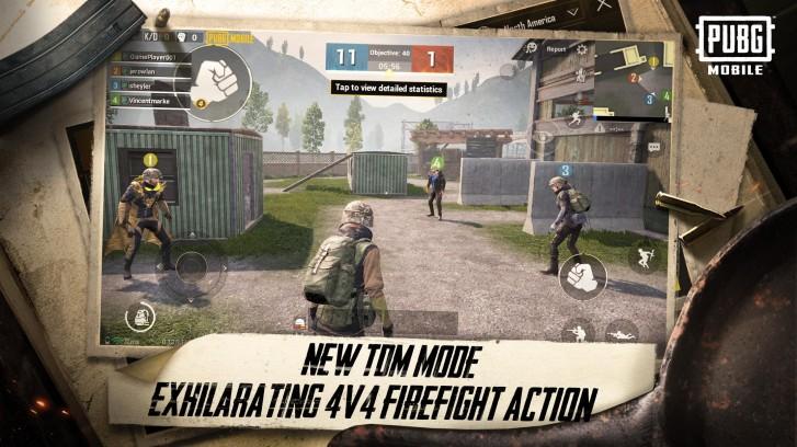 pubg mobile 4v4