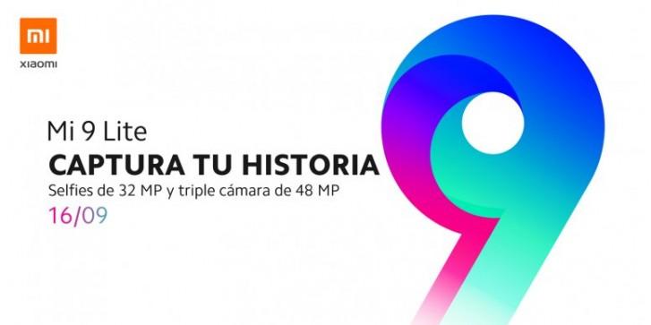 Xiaomi Mi 9 Lite débarque en Espagne le 16 septembre