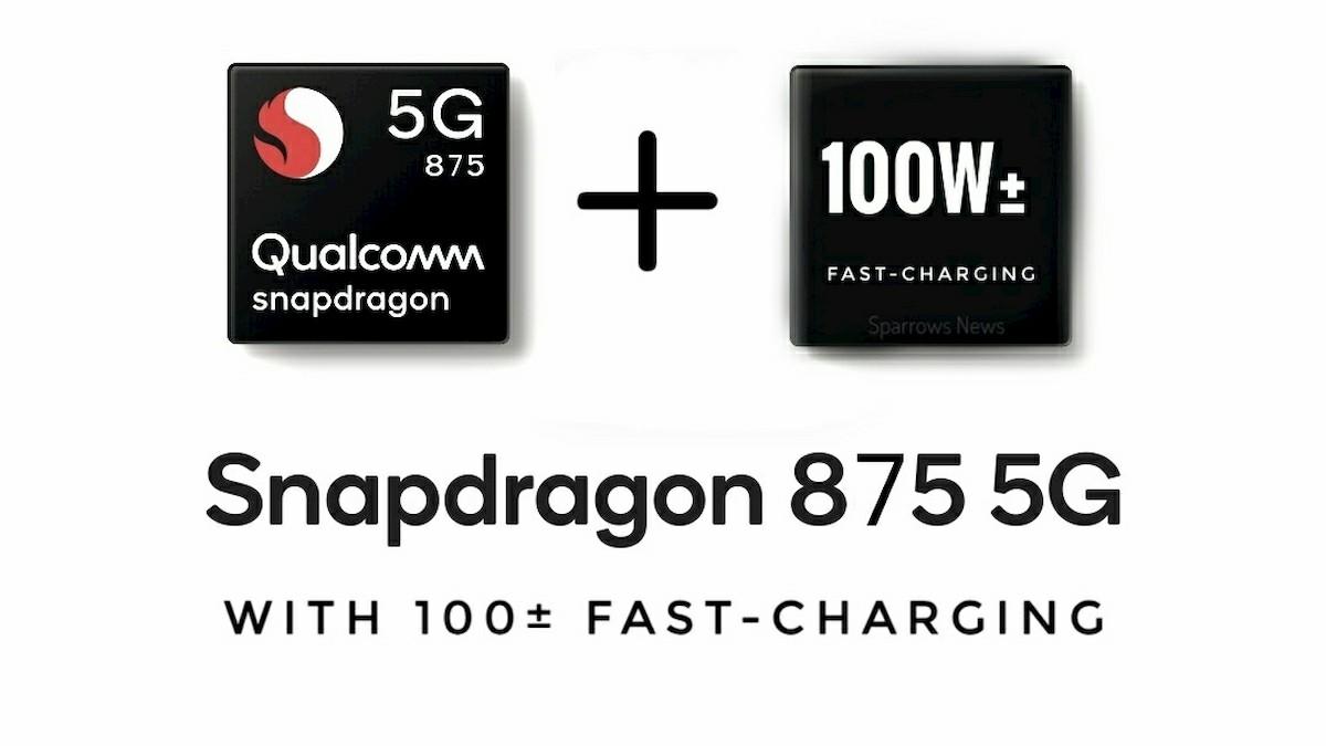 Le Snapdragon 875 supporterait une charge rapide de 100W