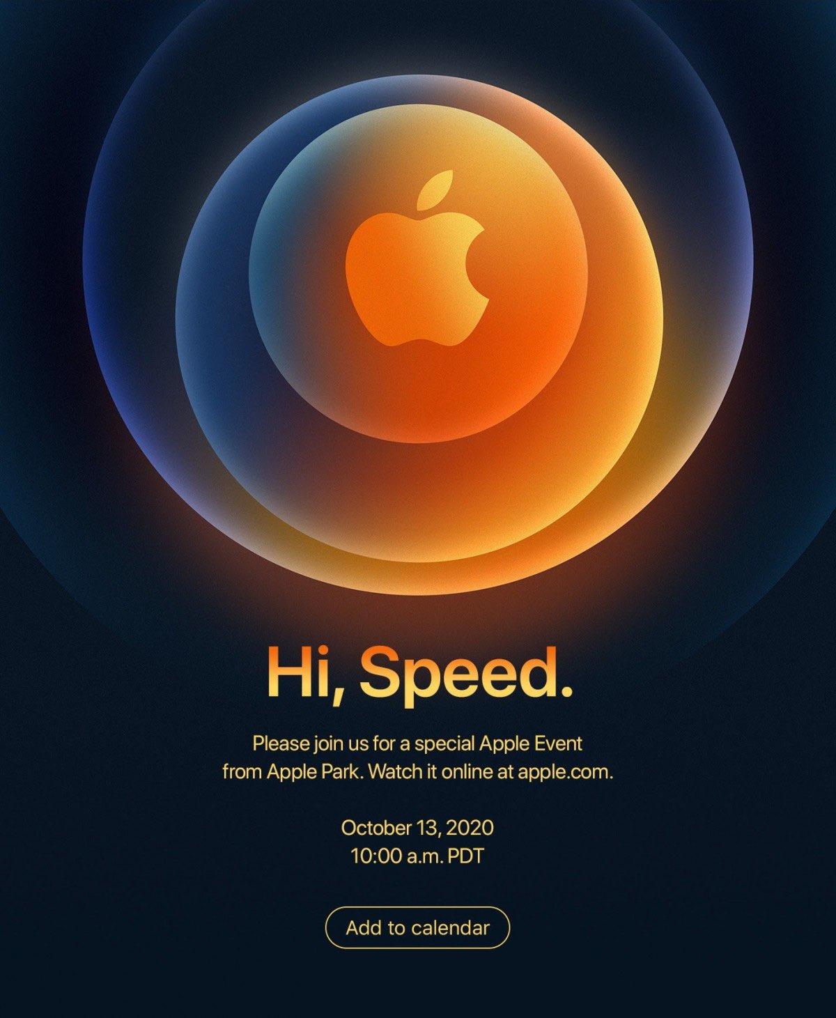 Apple organise son prochain événement en ligne le 13 octobre