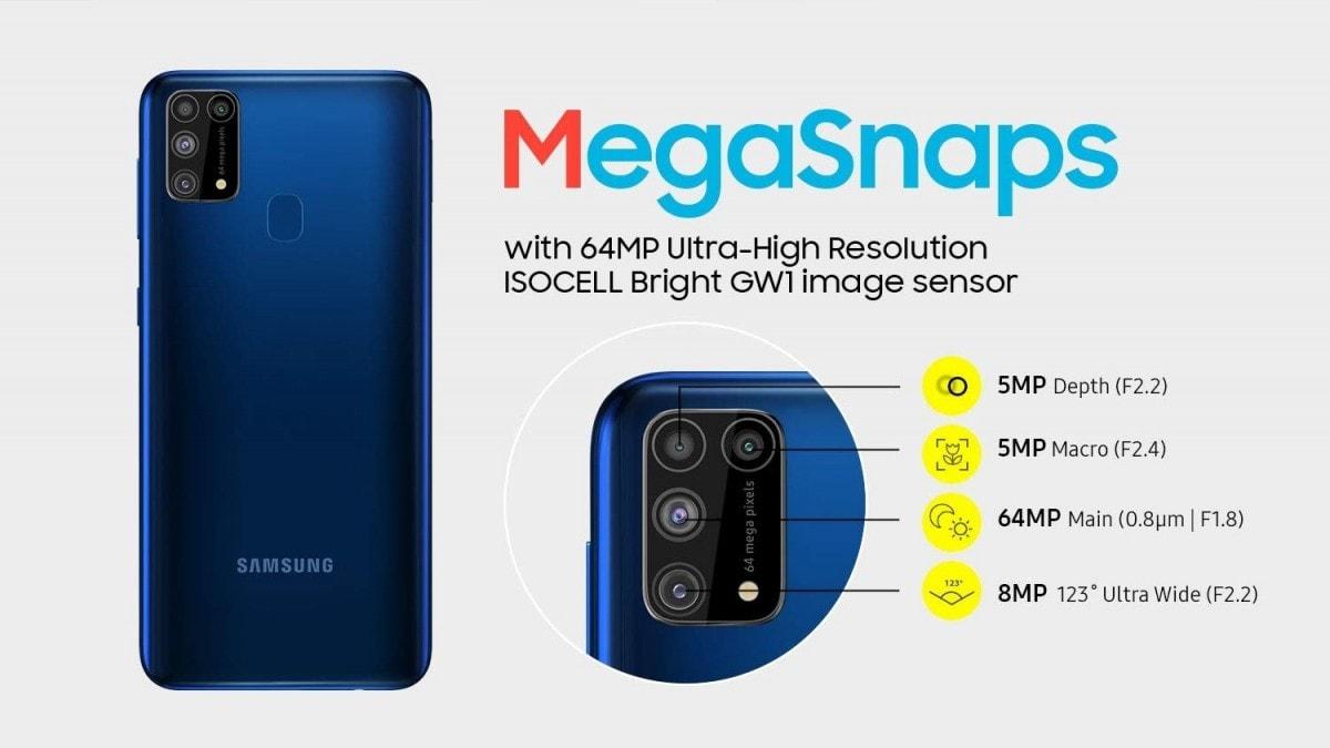Samsung Galaxy M31 Prime fiche technique et prix