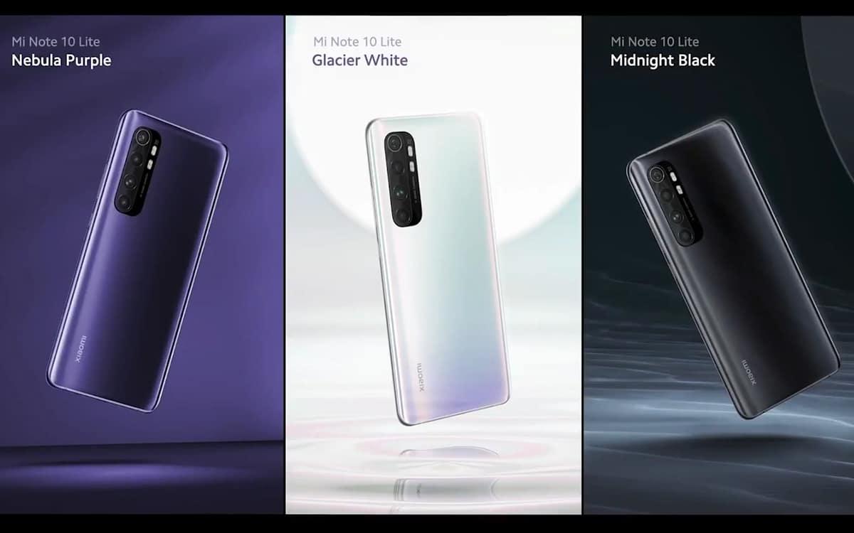 Xiaomi Mi Note 10 Lite Android 11