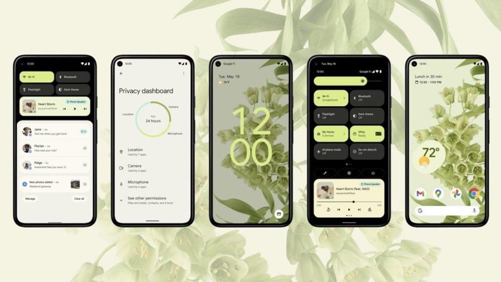 Android 12 arrive en phase bêta et présente un énorme changement de design