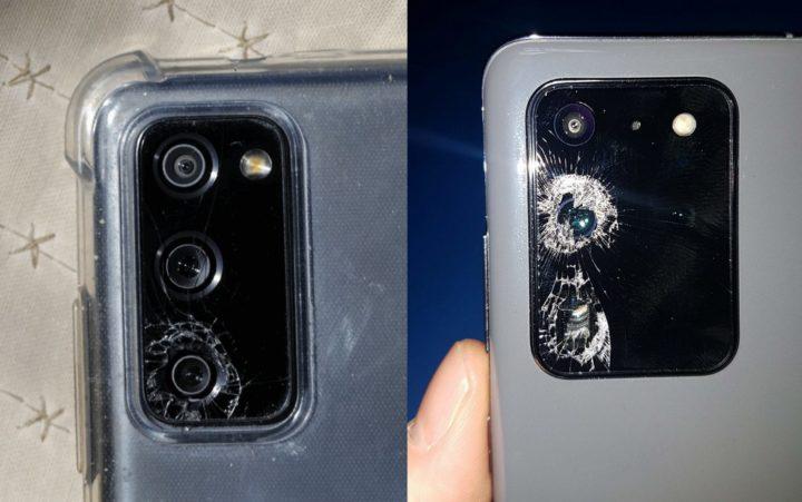 Samsung est poursuivi en justice pour le problème du verre de l'appareil photo de Galaxy S20