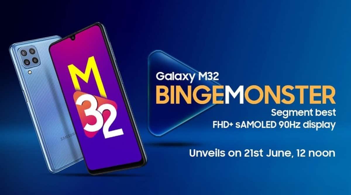 Samsung Galaxy M32 arrivera le 21 juin avec une grosse batterie.
