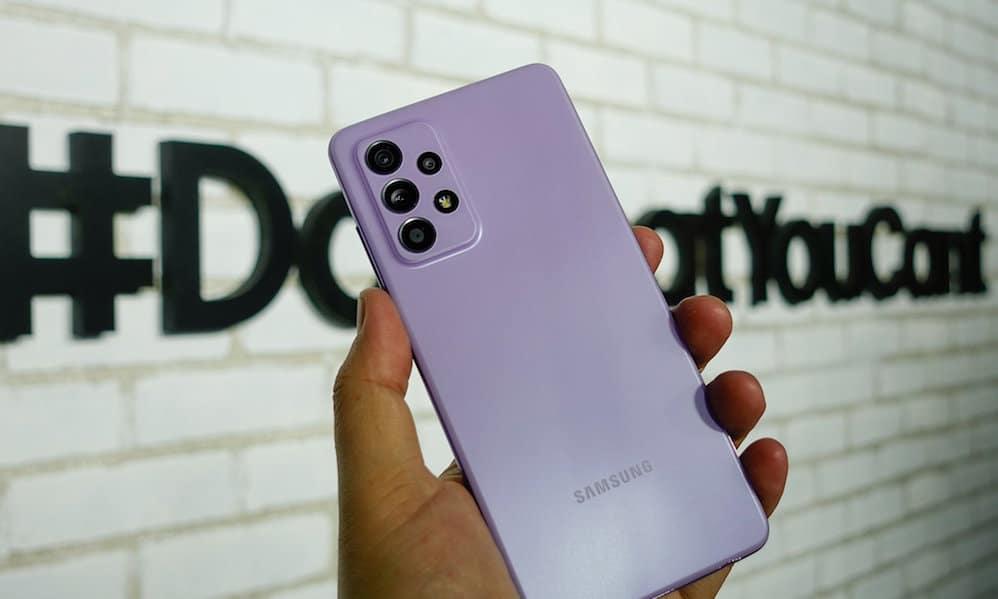 Samsung Galaxy A52 et Galaxy S10 reçoivent le correctif de sécurité de juin 2021